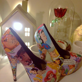 Disney - Princess High Heels