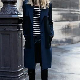 border and navy