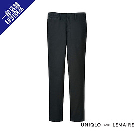 UNIQLO - UNIQLO AND LEMAIRE MEN チノパンツ+E