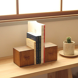 COW BOOKS - Bookends - Small [made by Landscape Products]