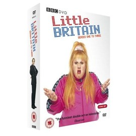 David Walliams / Matt Lucas - LITTLE BRITAIN Series One to Three (6 Disc Set)