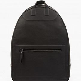 Maison Martin Margiela - 11 Men's Black Leather Shadow Rucksack