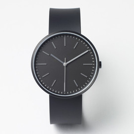 Uniform Wares - 104 SERIES PVD Black / Black Rubber