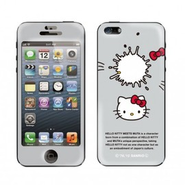 HELLO KITTY meets muta (ハローキティミーツムータ), Gizmobies - TWIN MILKY【iPhone5専用Gizmobies】