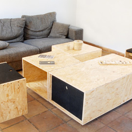 4+4 Coffee Table 4+4 Coffee Table Design by Kutarq