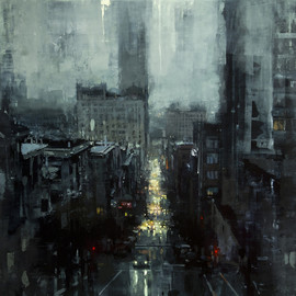 Jeremy Mann - CITYSCAPES / The City Tempest