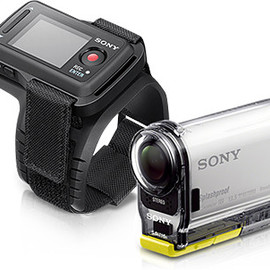SONY - HDR-AS100VR