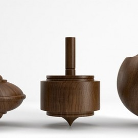 Herman Miller - Walnut Spinning Tops