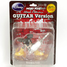 MEDICOM TOY - ULTRA DETAIL FIGURE - MICKEY MOUSE (Roen collection) GUITAR Version