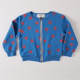 BOBO CHOSES - Sweat Shirt Zip Squares