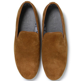 nonnative - DWELLER OPERA SHOES - COW SUEDE WITH GORE-TEX® 2L by REGAL
