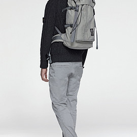 Hidden Reflective Backpack - Black
