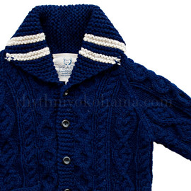 Mont Livre - Hand Knit Fisherman Sweater