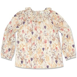 MARIE-CHANTAL - Cotton Flower Print Blouse