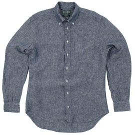 Gitman Vintage - Grey Linen Chambray Shirt