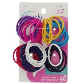 Goody Ouchless - Gentle Elastics - No Metal - Brights