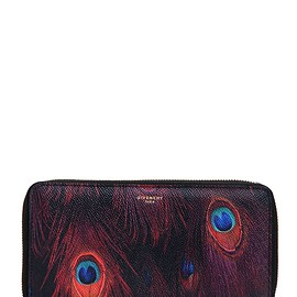 GIVENCHY - FW2015 PRINTED COATED CANVAS ZIP AROUND WALLET