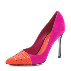 Sergio Rossi - Pointy Suede Pumps