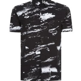 new look - Black Storm Print Shirt