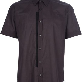 DRIES VAN NOTEN - 'CHUCK' PANEL S/S SHIRT
