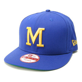 NewEra - NEWERAmilwaukeebrewerssnap-back(blue/yellow)