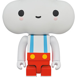 "MEDICOM TOY - KUBRICK 400% FriendsWithYou ""Little Cloud Boy"""