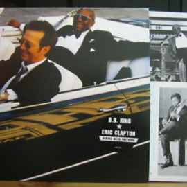 B.B. King & Eric Clapton - Riding with the king (Record: Reprise 9362-47612-1)