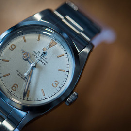 ROLEX - White Dial Explorer 1 from 1958, reference 6610.
