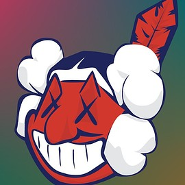 KAWS - Chief Wahoo by ShawnTG