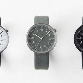 "nendo - 「watch collection ""draftsman"" for by