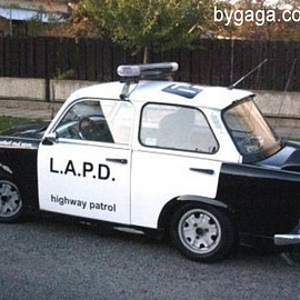 Trabant - LAPD-Police
