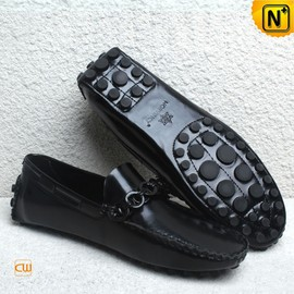 CWMALLS - Patent Leather Moccasins for Men CW740163