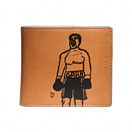 "COACH - Hugo Guinness ""Boxer"" Coin Wallet"