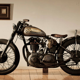 BSA - Custom BSA motorcycle