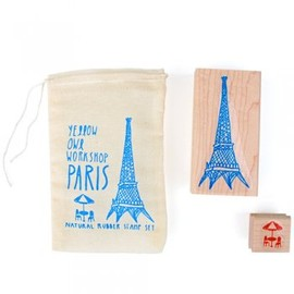 Yellow Owl Workshop - Paris Stamp Set