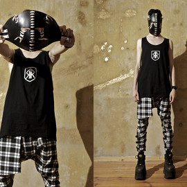 long clothing - Long X Orphanage Clip Pants (Tartan)
