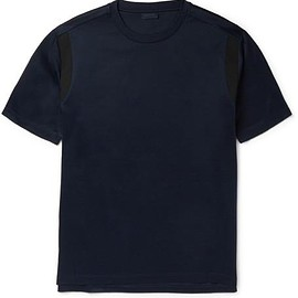 Lanvin - Contrast-Trim Cotton T-Shirt