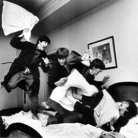 Harry Benson - The Beatles Pillow Fight