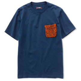 CASH CA - KNIT POCKET S/S TEE