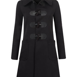 Liberty London - Black Charlotte's Duffle Coat, A.P.C.