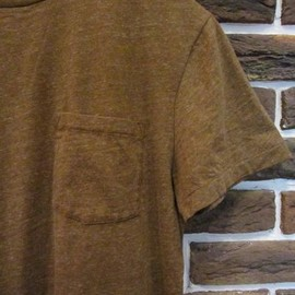 RRL - Heather Brown Pocket T