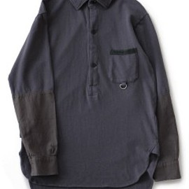 PEEL&LIFT - Pique Army Shirt (charcoal)