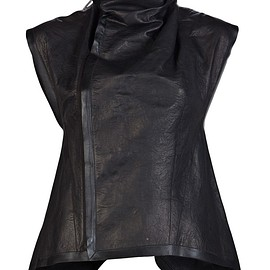 RICK OWENS - Leather Vest