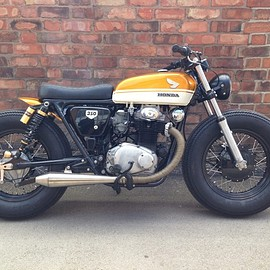 Voodoo Custom Cycles - Honda CB 350 K2