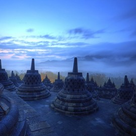 Indonesia, Java - Borobudur Temple
