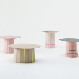Karimoku、Scholten & Baijings (Stefan Scholten, Carole Baijings ) - Colour Wood, Karimoku New Standard Japan