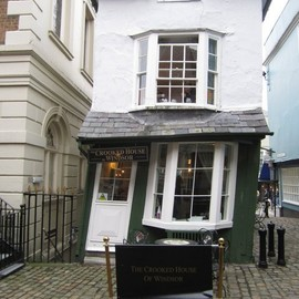 The Crooked House. English Tea Room. Windsor. UK