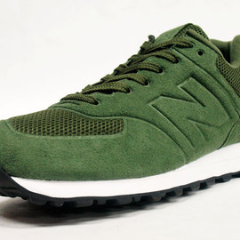 new balance - MS574-GREEN