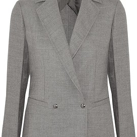 Barbara Casasola - Double-breasted wool-blend blazer