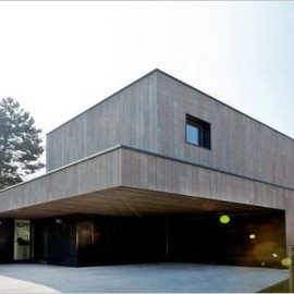 Stéphane Cachat, architect - Massive Wood House